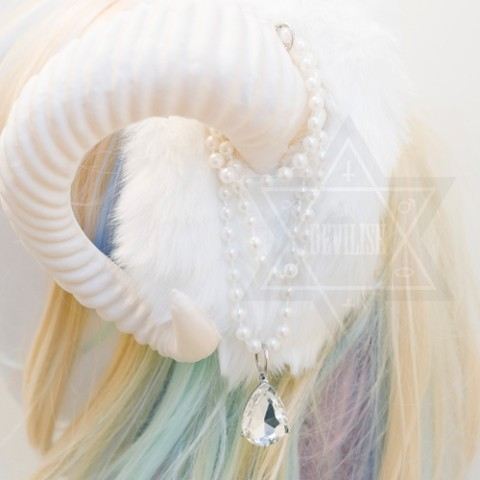 【Devilish】Snow princess Hairband