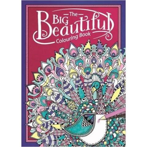 【塗り絵・洋書】The Big Beautiful Colouring Book/LBS