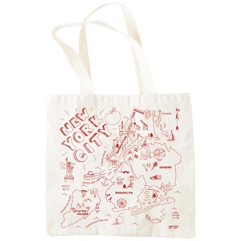 【Maptote GROCERY BAG】ニューヨークシティ