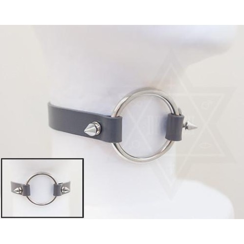 【Devilish】Ring choker(ash)