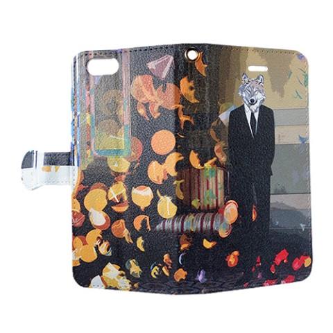 063fc1ccba comopure】【iPhone6/6s】『狼男』手帳型スマホケース / 雑貨通販 ...