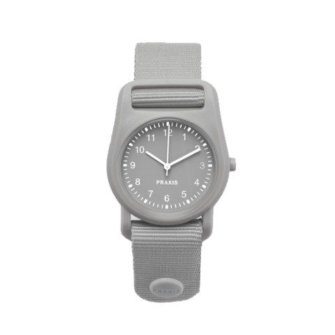 PRAXIS STRAP WATCH GRAY