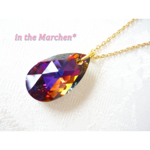 【in the Marchen*】「魔力の結晶」ネックレス ヴォルケーノ ステンレス