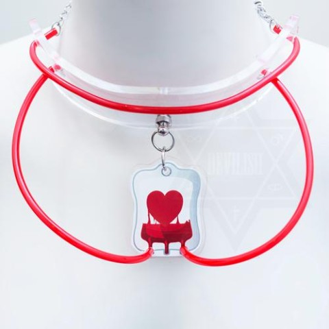 【Devilish】LOVE drip-feeding choker