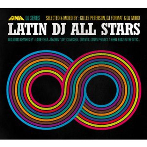 Selected&Mixed by:Gilles Peterson,DJ Format&DJ Muro/LATIN DJ ALL STARS(5CD)
