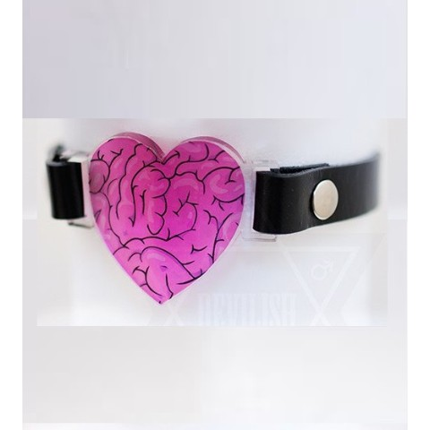 【Devilish】Love mode choker(PINK)