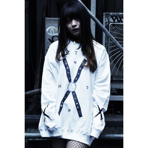 【アマツカミ】拘束/Restraint Sweat White 2XL