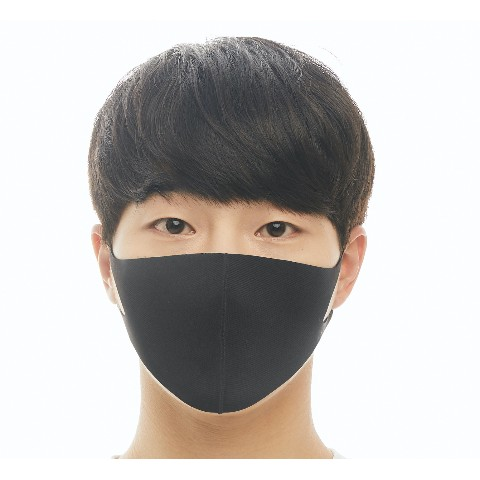 【LOOKA】Refreshing Mask (BLACK) L