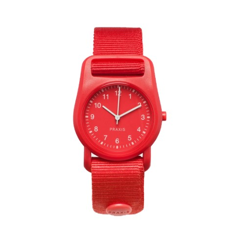 PRAXIS STRAP WATCH RED