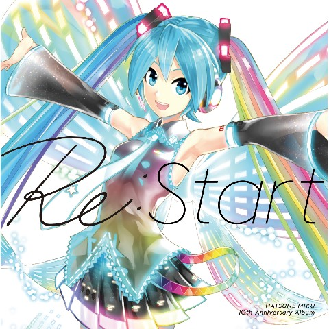 HATSUNE MIKU 10th Anniversary Album 「Re:Start」 【通常盤】【VV特典あり】