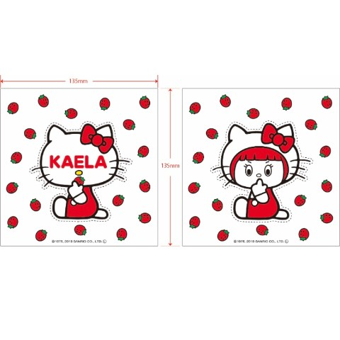 【KAELA×HELLO KITTY】HELLO KAELA ステッカー