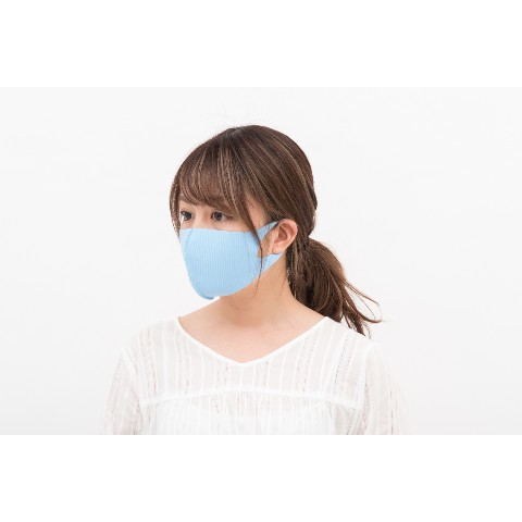 【LOOKA】Refreshing Mask (LIGHT BLUE) S