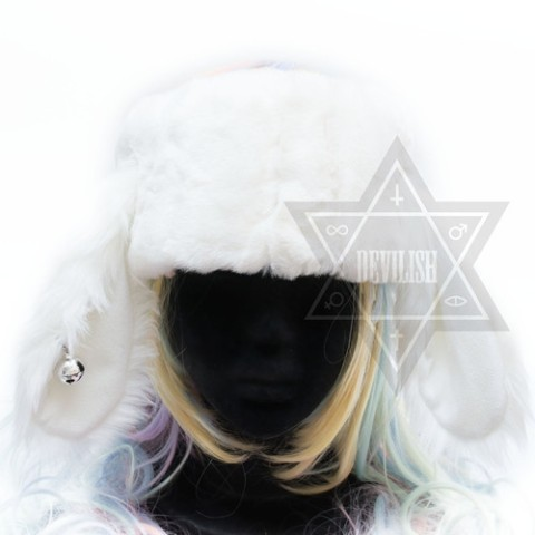 【Devilish】Ring my bell Headband(White)