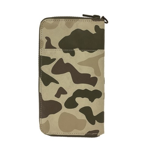 SLOWER BAG PASSPORT WALLET CAMO