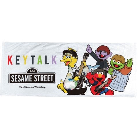 ヴィレトーク2019【KEYTALK×VillageVanguard】SESAME STREET コラボタオル