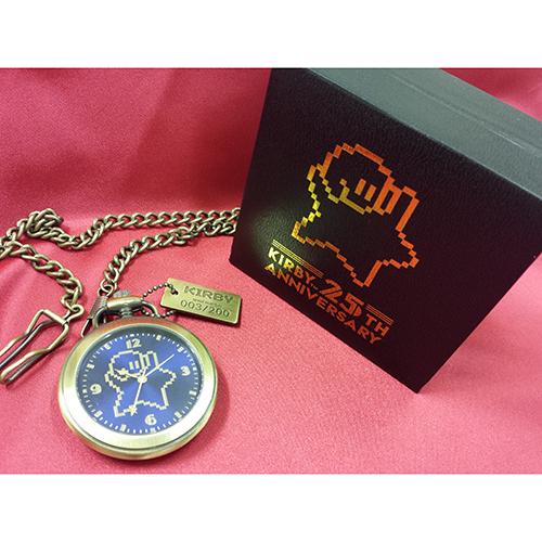 ✩星のカービィ 25thアニバーサリー懐中時計✩