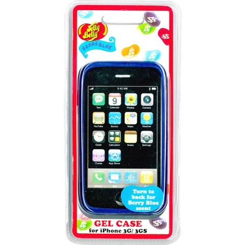 Jelly Belly iPhoneケース ブルー
