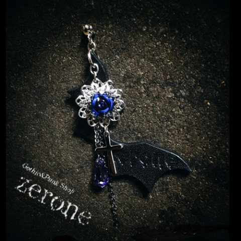 【zerone-ゼローネ-】Vamp Pierce Blue