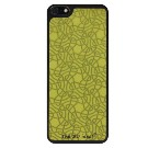 【The 3D idea】【iPhone5/5s】Skin Sticker 【Knots YELLOW】【iPhone5/5sフィルム】