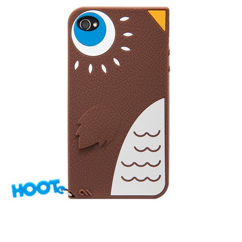 Case Mate iPhone 4S / 4用CASE Creatures Hoot Owl