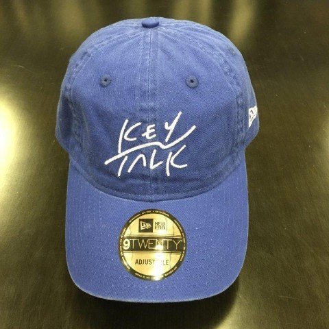 KEYTALK×NEWERA 9TWENTY Cloth Strap/BLUE