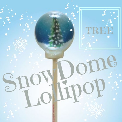 SnowDome Lollipop tree / Strawberry