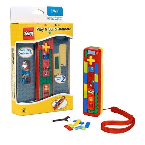 LEGO Play & Build Remote for Wii(任天堂 Wii専用リモコン)