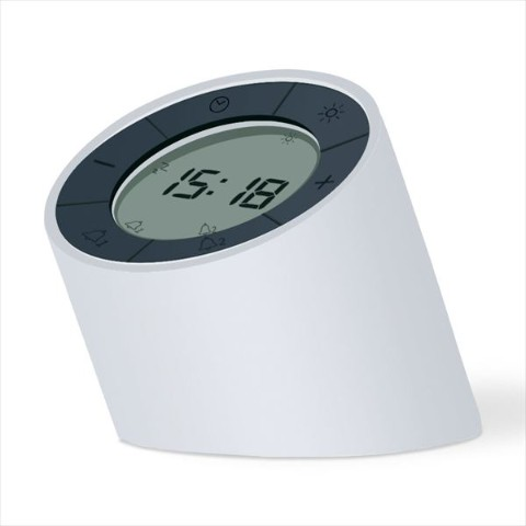 Edge Light Alarm Clock(ホワイト)