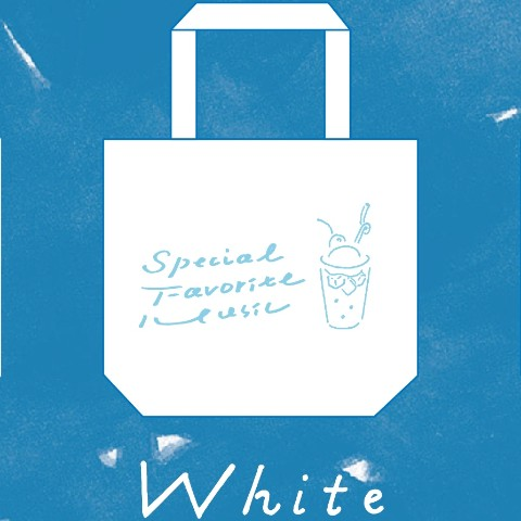 【Special Favorite Music】トートバッグ(WHT)