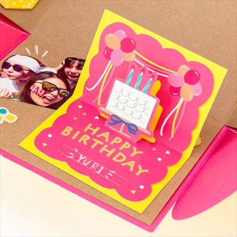 【SURPRISE FACTORY】BIRTHDAY POP UP CARD(POP)