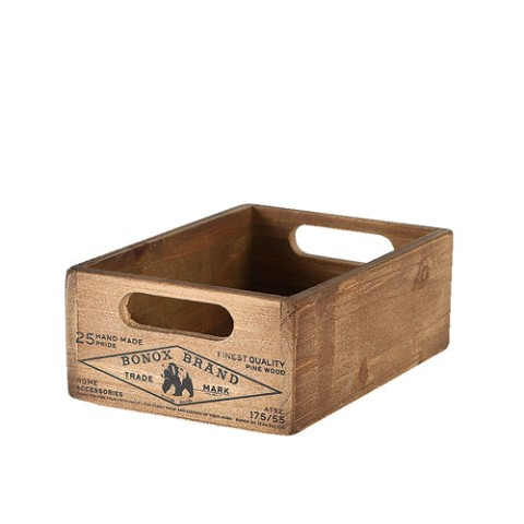 Wooden stocker box