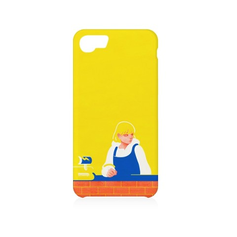 【aka】iPhone Case( iPhone 6/6s/7/8兼用)『Village Vanguard Shop』