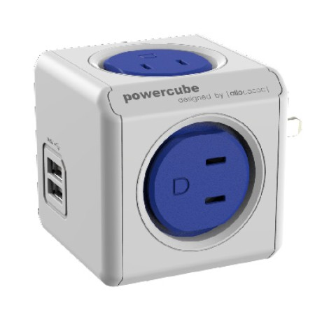 【allocaco】POWER CUBE original USB (BLUE)