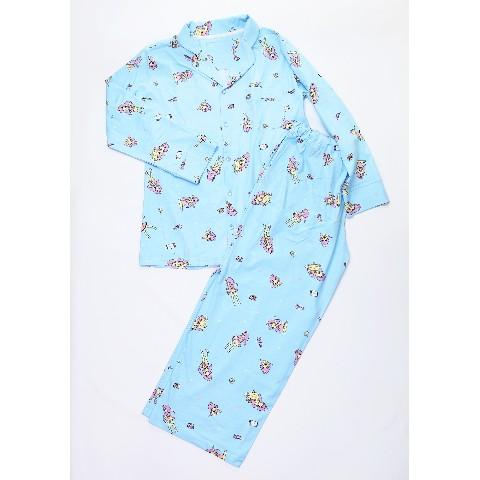 【愛☆まどんな】そいねちゃんパジャマ上下セット/BLUE【渋谷店直送】