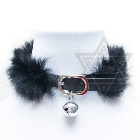 【Devilish】Black kitty choker