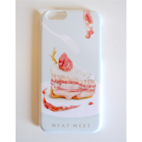 【Pola】iPhone6用ケース MEAT CAKE