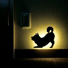 【That's Light!】SHIBA WALL LIGHTふりふり