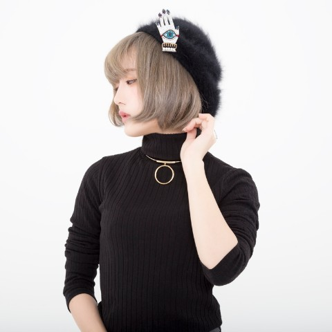 【CuLLt】 サークルチョーカーGOLD <GOLD×SILVER Collection>