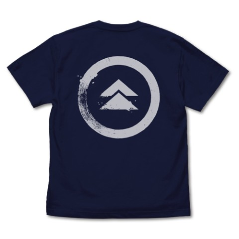 【Ghost of Tsushima】家紋 Tシャツ/NAVY-S