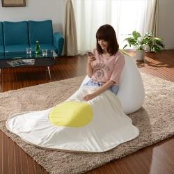 盾形氣球毯
