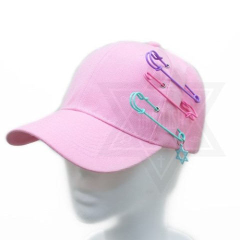 【Devilish】Pastel hexagram cap