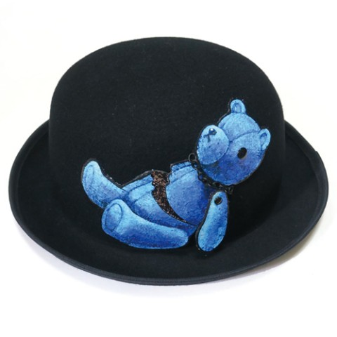 帽子【teddy bear(BLUE)】