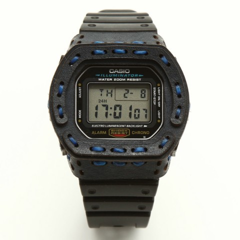 【armadillo】レザーカスタムケース for G-SHOCK【arm-002-NAVY】