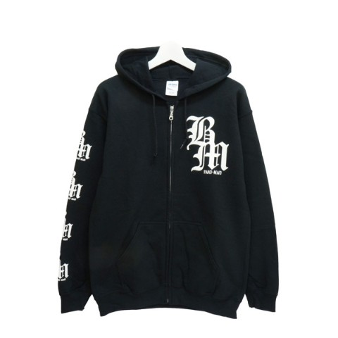 BAND-MAID×deathsight ZIP UP HOODIE M