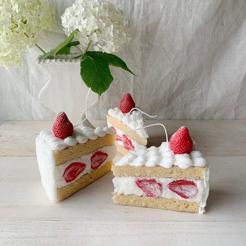 【10mei candle works】gateau fraise