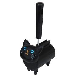 貓的滾筒清潔劑(黑色)