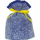Gift Bag (L) Star Blue