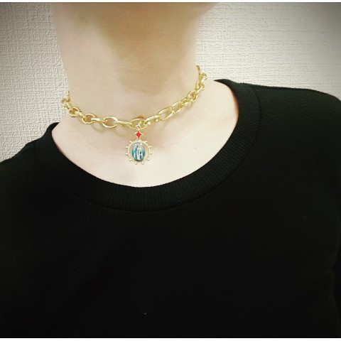 【KARMA of PASSION】GoldMaria Neck