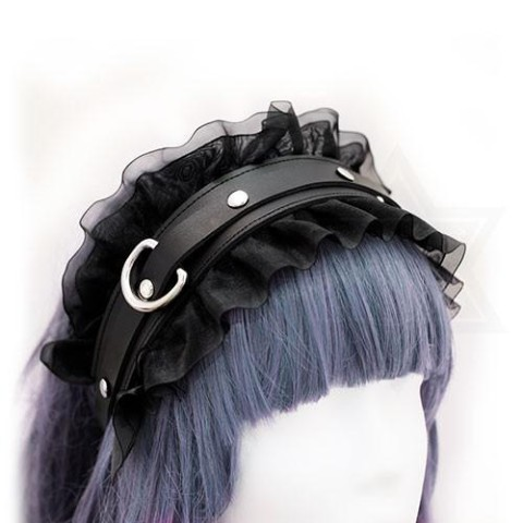 【Devilish】Fetish girl headband<リボンカチューシャ>