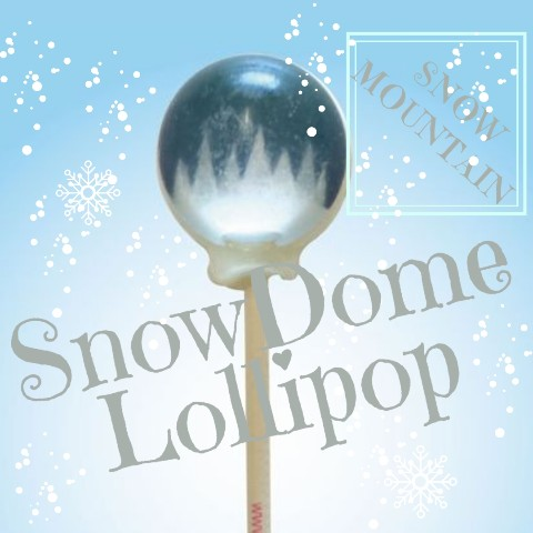 SnowDome Lollipop snow mountain / Guava